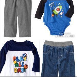 Garanimals Mix & Match Baby Boy Outfits